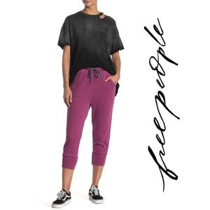NWT Free People Counterpunch Cropped Jogger, S